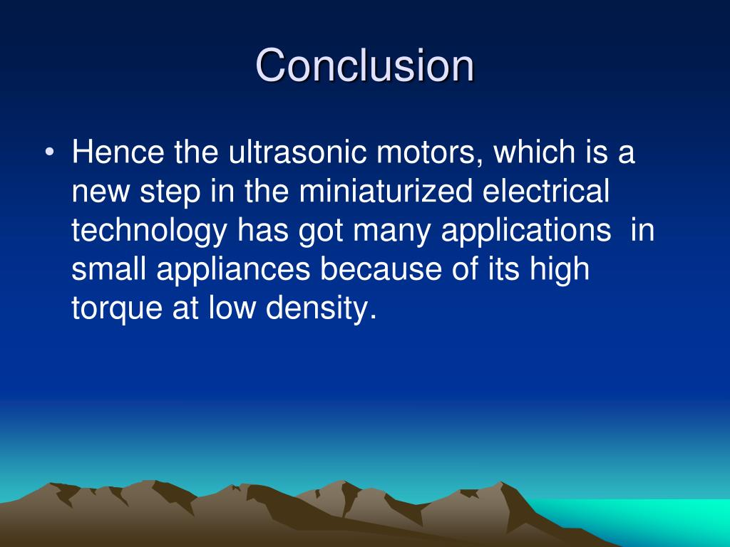 PPT - Seminar on ULTRASONIC MOTORS By Madhu Patel K G