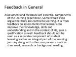feedback in general