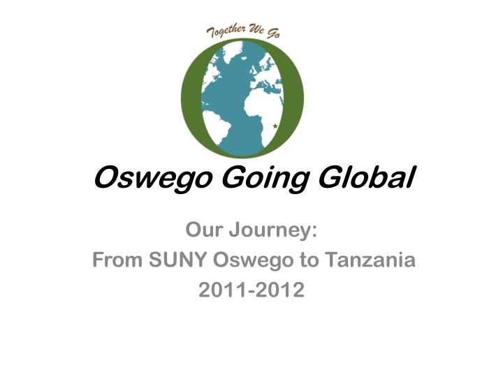 oswego going global n.