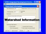 watershed information