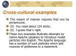 cross cultural examples10
