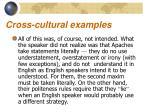 cross cultural examples4