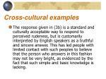 cross cultural examples6