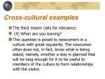 cross cultural examples8