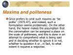 maxims and politeness3
