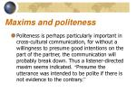 maxims and politeness4