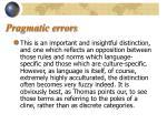 pragmatic errors10