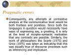 pragmatic errors2
