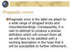 pragmatic errors4