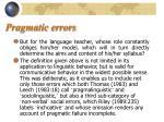 pragmatic errors7