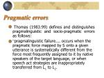 pragmatic errors8