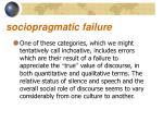 sociopragmatic failure2