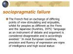 sociopragmatic failure6