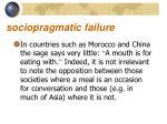 sociopragmatic failure7