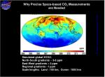 why precise space based co 2 measurements are needed