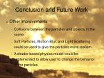 conclusion and future work2