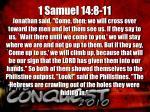 1 samuel 14 8 11