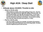 high aoa deep stall