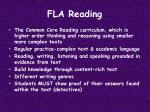 fla reading