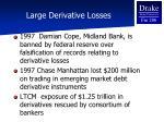 large derivative losses1