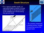 swath structure