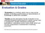 evaluation grades