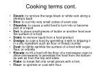 cooking terms cont2