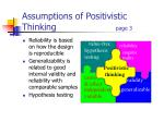 assumptions of positivistic thinking page 3