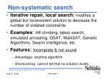 non systematic search