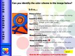 can you identify the color scheme in the image below is it a2