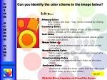 can you identify the color scheme in the image below is it a5