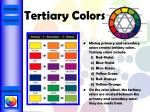 tertiary colors