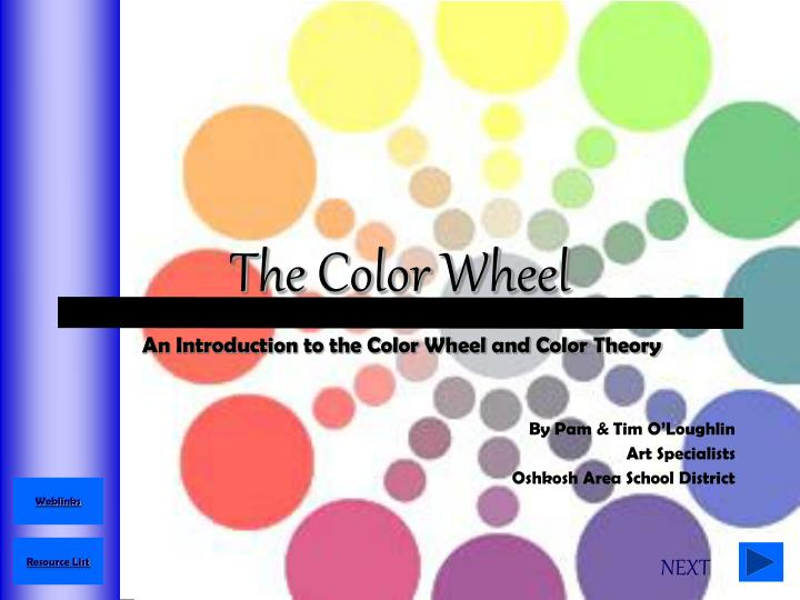 the color wheel n.