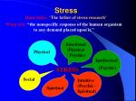 stress hans selye the father of stress research