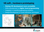 vr soft hardware prototyping
