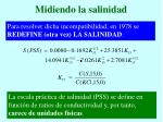 midiendo la salinidad9