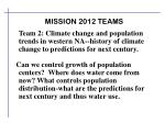 mission 2012 teams1