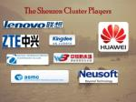 the shenzen cluster players