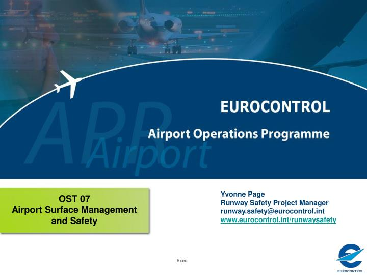 Ost 07 airport surface management and safety