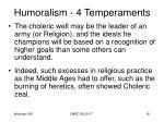humoralism 4 temperaments16