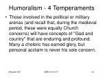 humoralism 4 temperaments18