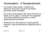 humoralism 4 temperaments19