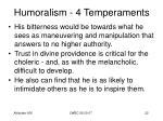 humoralism 4 temperaments20