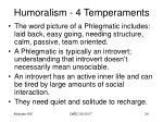 humoralism 4 temperaments22