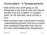 humoralism 4 temperaments27