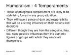 humoralism 4 temperaments31