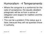 humoralism 4 temperaments32