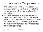 humoralism 4 temperaments42
