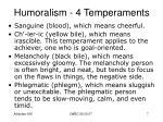 humoralism 4 temperaments5