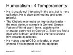 humoralism 4 temperaments9